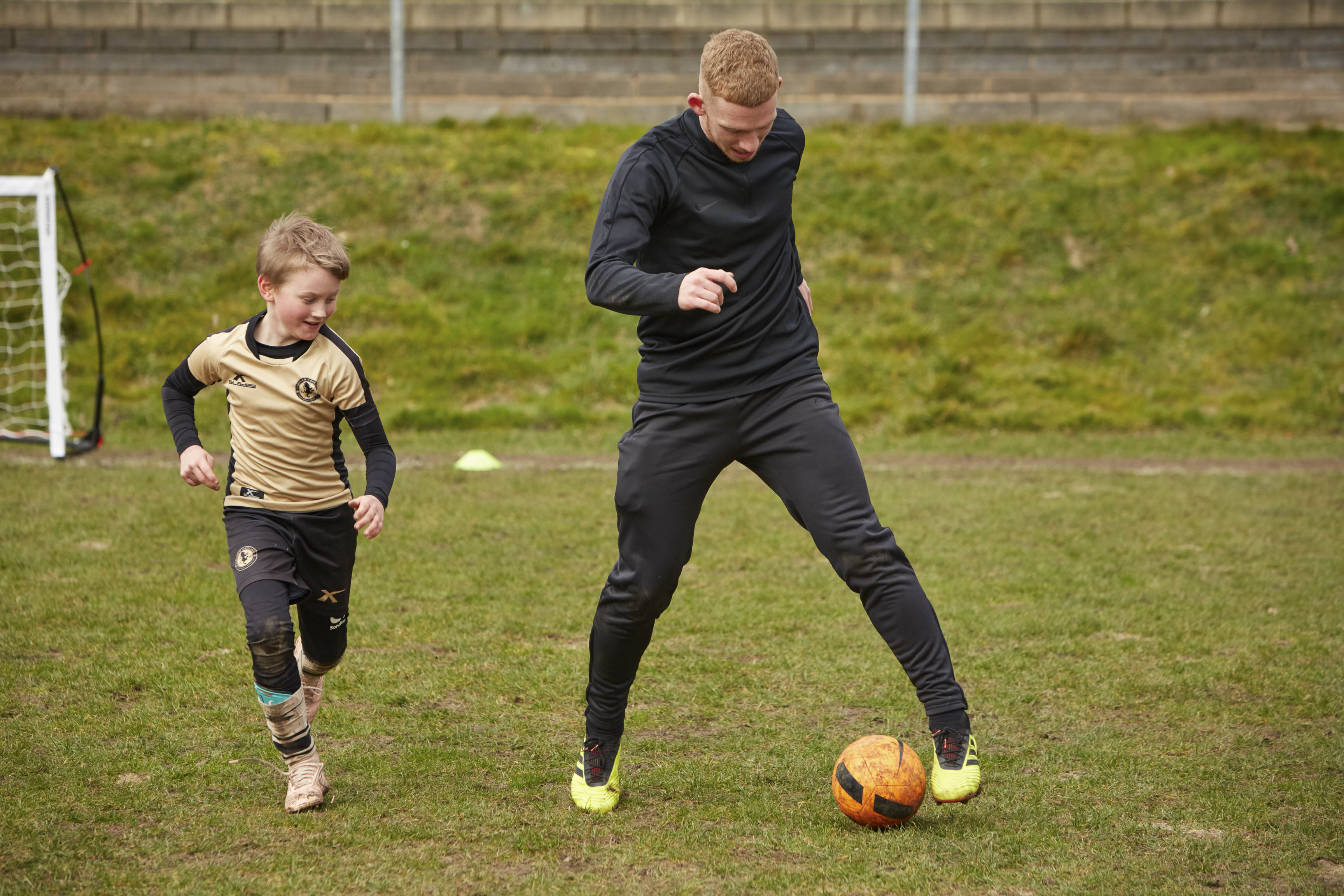 One to one training at PSC Football Academy